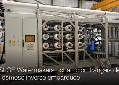 Flexibles DN 80 résistant à l'eau de mer sous 80 bar