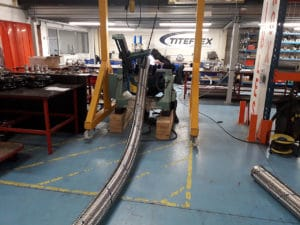 fabrication flexible inox dn150 10 metres