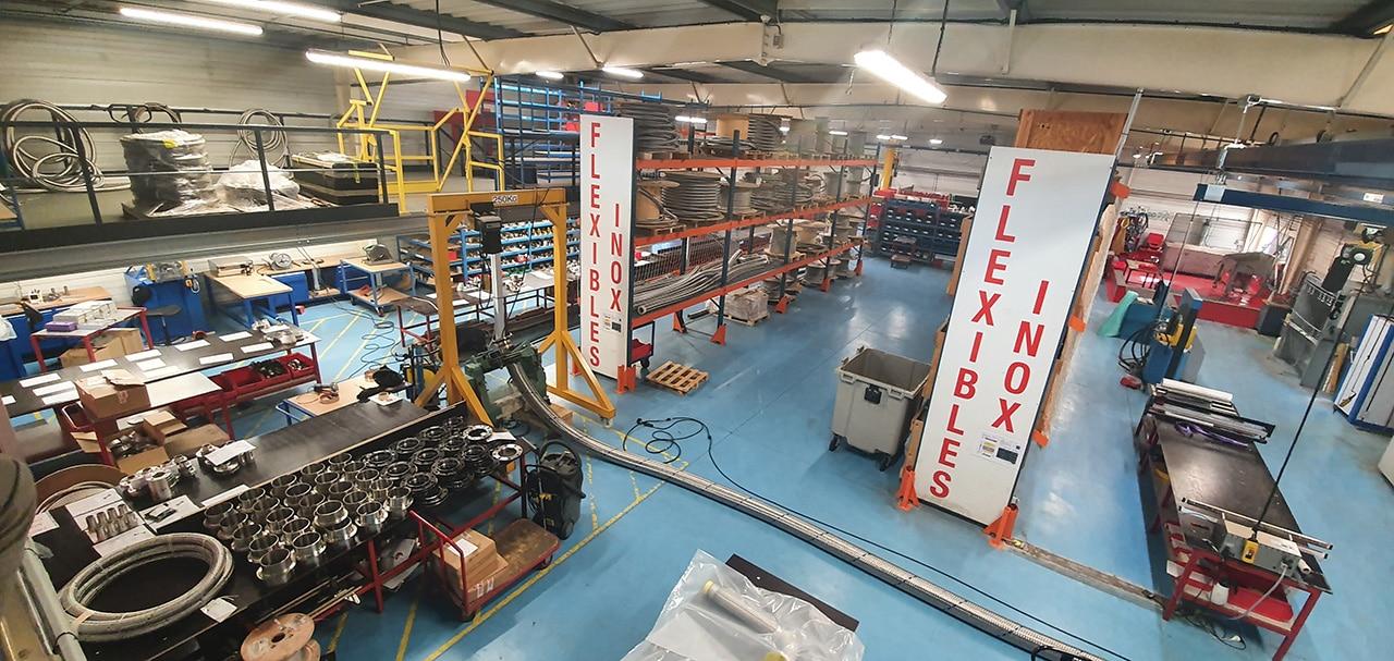 atelier fabrication flexibles inox