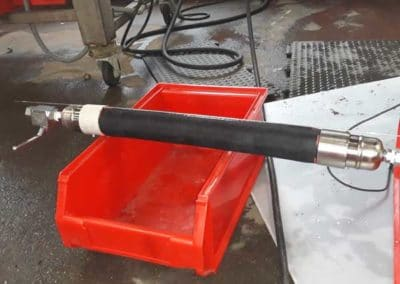 flexible chemikler UPE DN50 éprouvé à 24 bars