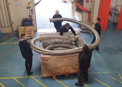 Fabrication de flexibles pour la raffinerie Sara en Martinique